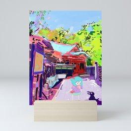 Enoshima Island Mini Art Print
