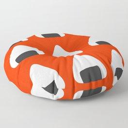 Onigiri and the Rising Sun Floor Pillow