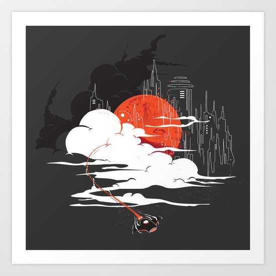 Uncharted Voyage Art Print