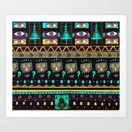 KOOZ NIGHTMARE NIGHT WEAR LEGGINGS Art Print