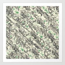 Liquid Assets Art Print