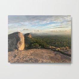 Sigiriya from afar Metal Print