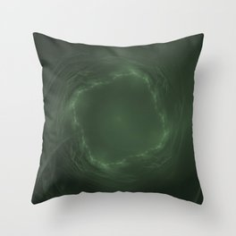 Emerald Eye Throw Pillow