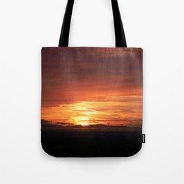 SETTING SUN II Tote Bag