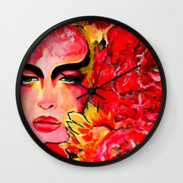 Gaia    #Society6  #decor  #buy art Wall Clock