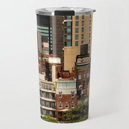 New York architecture Travel Mug