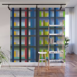 Colorful Imprisonment Wall Mural