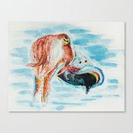 Tri-Cuttle-ing Canvas Print