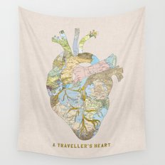 A Traveller's Heart (UK) Wall Tapestry