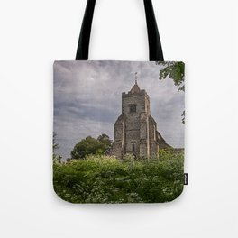 St Peter Firle Tote Bag