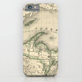 Lake Superior 1878 iPhone Case