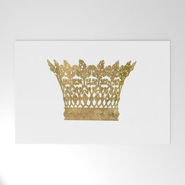 Crown Welcome Mat