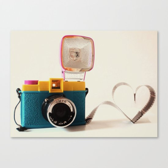 Lomo Love Canvas Print