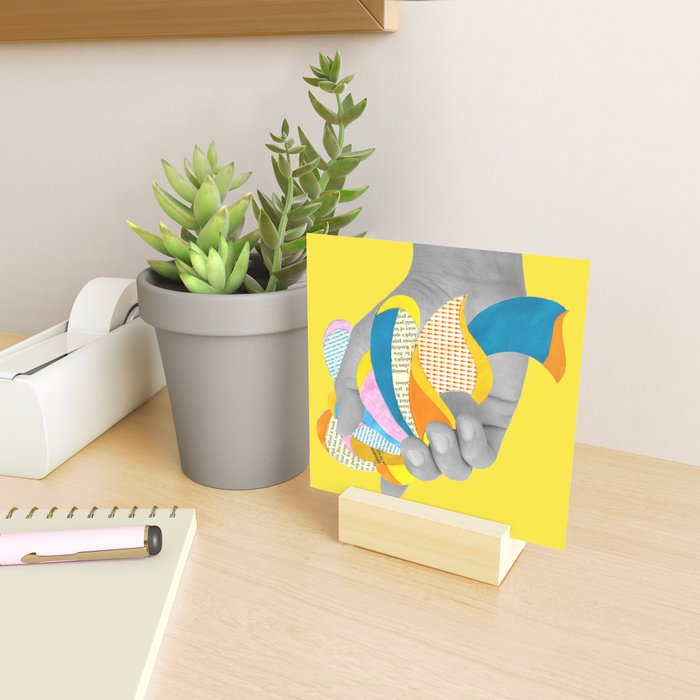 Blue Flower Mini Art Print