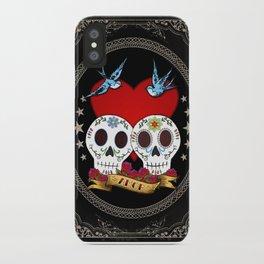 Love Skulls iPhone Case