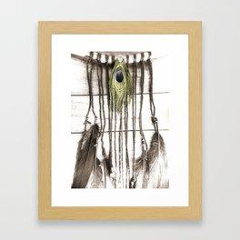 Feathered Dreams Framed Art Print
