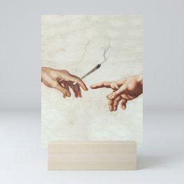 Adam and The God Mini Art Print
