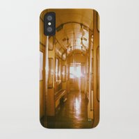 train iPhone & iPod Cases featuring Train  by Raquel Belloch