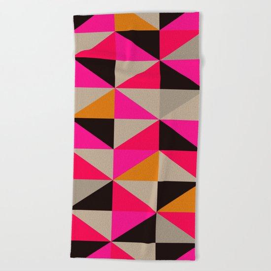 colour + pattern 5 Beach Towel