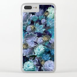 """Baroque floral with bugs"" Clear iPhone Case"