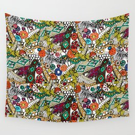 Indian dance Wall Tapestry