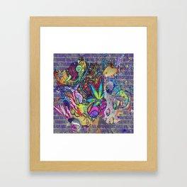 Totally Trippy Framed Art Print