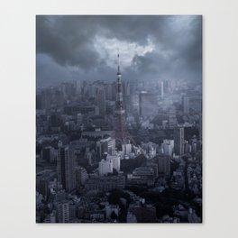 Desolation at Tokyo Tower Canvas Print