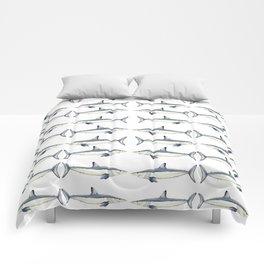 Mako shark Comforters