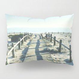 To the sea... Vintage beach Pillow Sham