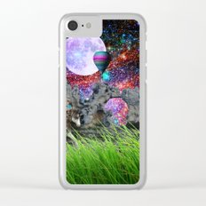 dreaming planet Clear iPhone Case