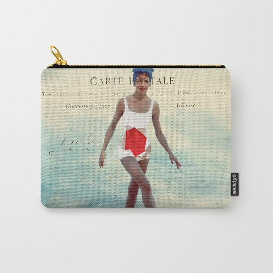 Tu Me Manques Carry-All Pouch