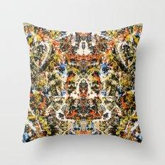 Reflecting Pollock 2 Throw Pillow
