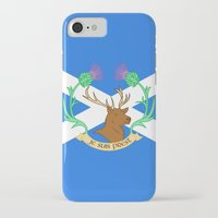 outlander iPhone & iPod Cases featuring Clan Fraser by CaptainSunshine