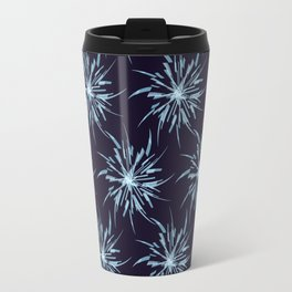 Christmas Snowflakes Travel Mug