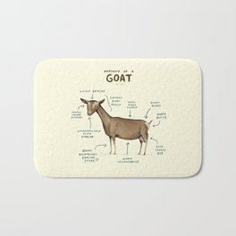 Anatomy of a Goat Bath Mat