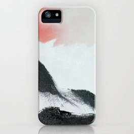 Morning's Snow iPhone Case