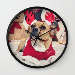 Josie the Red-horn Frengle... Wall Clock