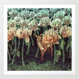 Fallow Forest Art Print