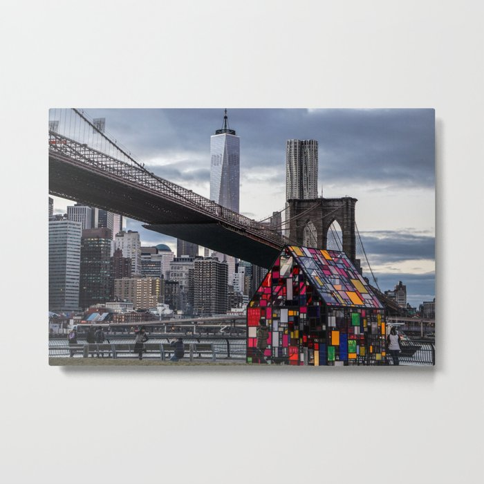 All About NYC Metal Print