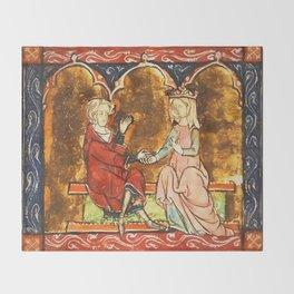 Arthur Legend 2 Lancelot and Guenevere Throw Blanket