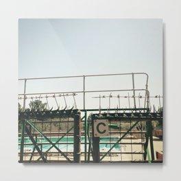 #139Photo #152 #GateC Metal Print