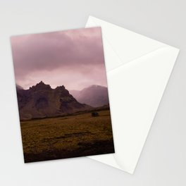 Midnight In Iceland Stationery Cards