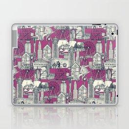 Seattle indigo crush Laptop & iPad Skin