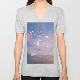 The Moon Boho Edition Unisex V-Neck