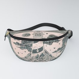 Compass Sunset Sea Dreams Fanny Pack