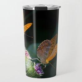 silver-bordered fritillary Travel Mug
