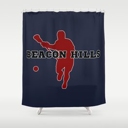 Beacon Hills Lacrosse Shower Curtain