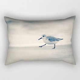 Just Keep Walking Rectangular Pillow