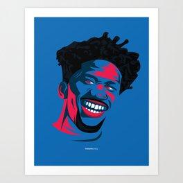 The Process Art Print