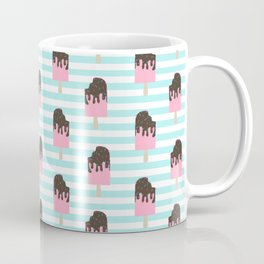 ice cream bar stripes food fight apparel and gifts Coffee Mug